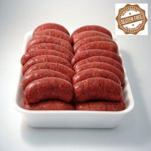 gluten free venison sausages