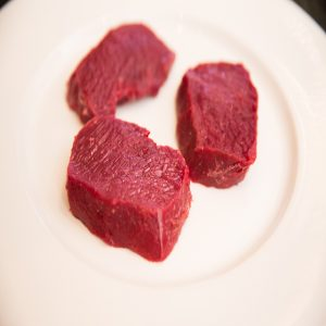 Wild Venison loin steaks