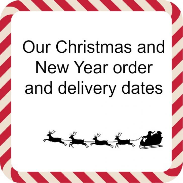 DON'T FORGET TO PLACE YOUR CHRISTMAS ORDER