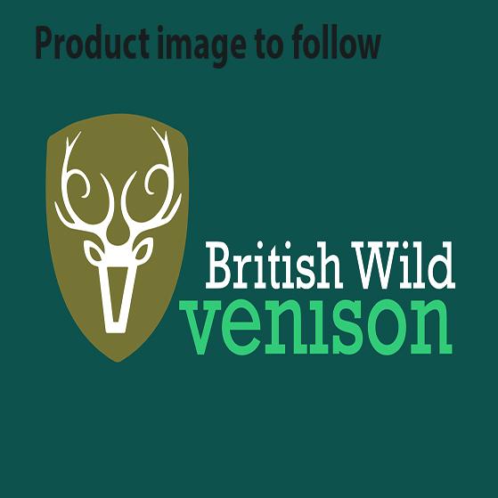 Whole wild venison haunch on the bone