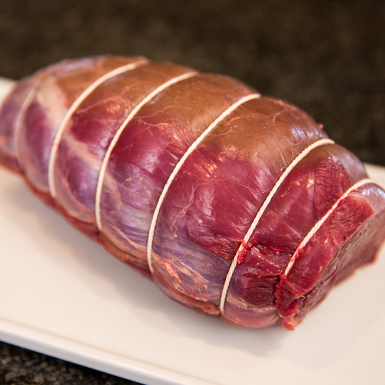 Large venison roasting joint