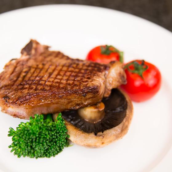 Venison T bone steak