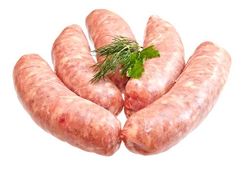 Traditional Award winning pork sausages