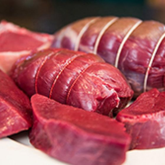 DEMAND FOR VENISON IS GROWING FASTER THAN WE CAN SUPPLY