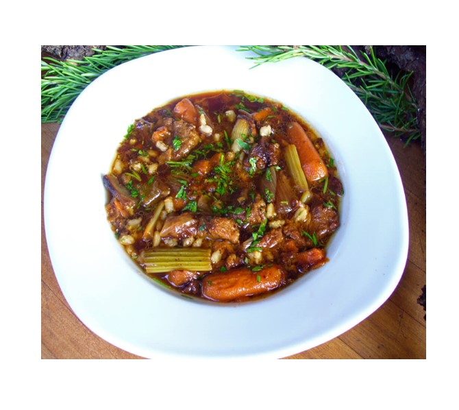 Guinness and Venison Oven Stew